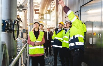 SFC's partner opened a unique renewable energy gas plant