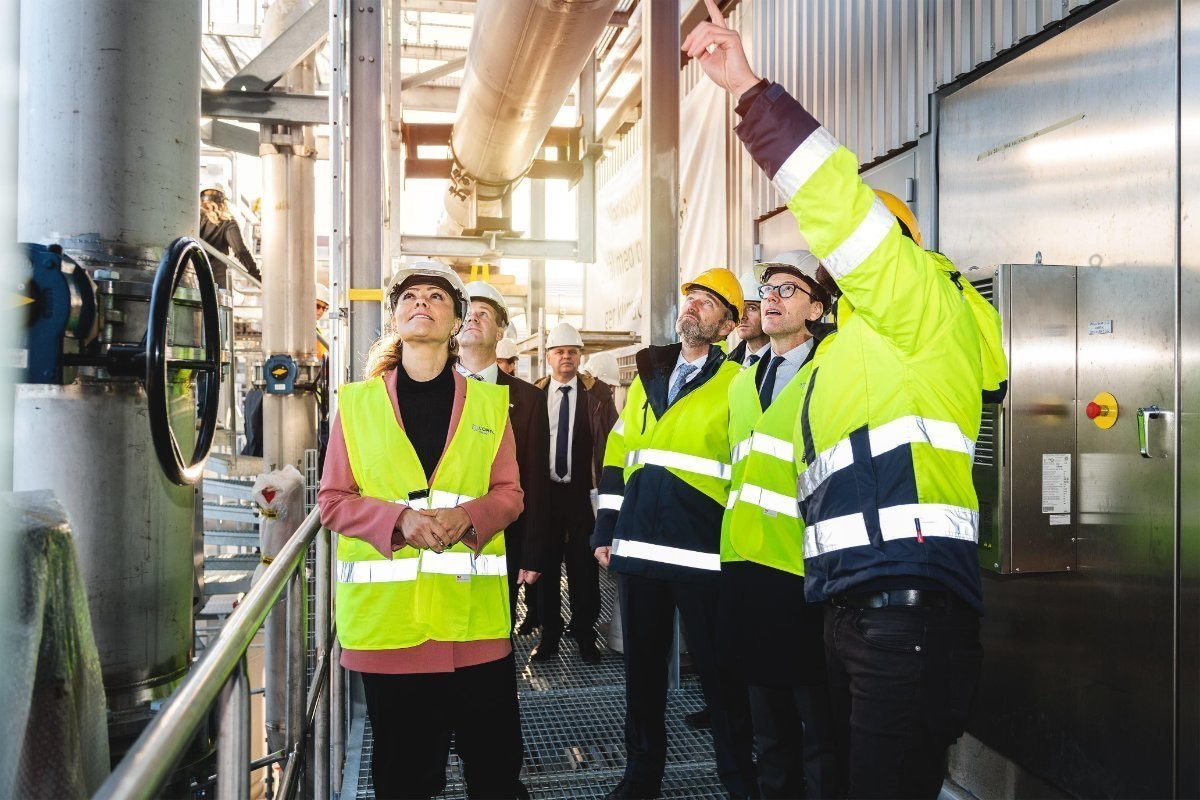 SFC's partner opened a unique renewable energy gas plant